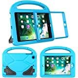 LTROP Compatible Kids Case Replacement for iPad mini 1/2/3, Shockproof Handle Light Weight Stand Case Cover with Built in Screen Protector for iPad Mini, iPad Mini 3rd, iPad Mini 2nd Generation - Blue
