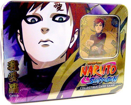 2009 Naruto CCG: Guardian of the Village Tin Collector Tin Set: Gaara - Great Gift! ()