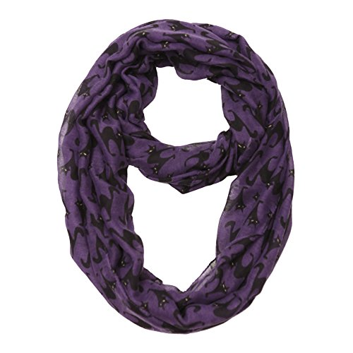 MissShorthair Cat Infinity Scarf Lightweight Loop Gift Idea]()