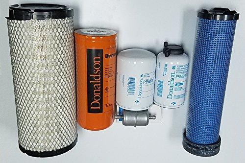 CASE 40XT, 60XT, 75XT, 85XT Skid Steer Filter Kit (All original Donaldson)