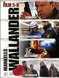 Wallander (Films 5-8) - 4-DVD Box Set ( Afrikanen / Den svaga punkten / Mastermind / Fotografen ) ( The Afrikan / The Tricksters / Master mind / The Phot [ NON-USA FORMAT, PAL, Reg.2 Import - Sweden ]