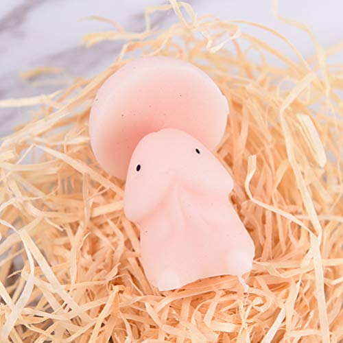Adasea 8 Pcs Mochi Squishy Toys Super Soft Mini Squishies Novelty Squeeze Kawaii Slow Rising Stress Relief Toys