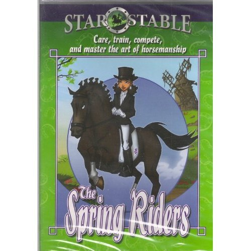 Star Stable The Spring Riders  Care  Train  Compete And Master The Art Of Horsemanship Cd Rom  Star Stable