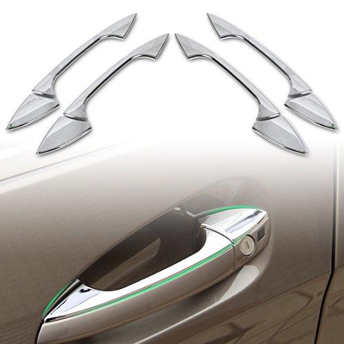beler Chrome Car Exterior Accessories Door Handle Trim Cover for Benz C E GLK ML CLA Class W166 W117 X204 W204 W212