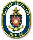 "US Navy Ship USS The Sullivans DDG-68 Decal Sticker 3.8"""