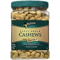 Planters Fancy Whole Cashews with Sea Salt