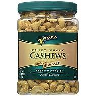 Planters Fancy Whole Cashews, Salted, 33 Ounce Jar