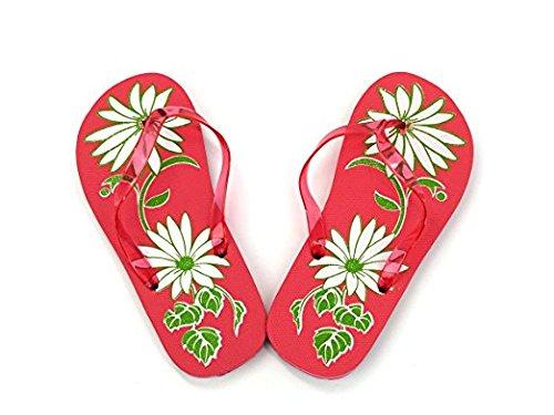 Beauticom Spa Pedicure Flip Flops Sandals Salon Slippers (Various Designs) (Quantity: 100 Pairs)