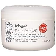 Briogeo Scalp Revival Charcoal and Coconut Oil Micro-Exfoliating Shampoo, 8 Ounce