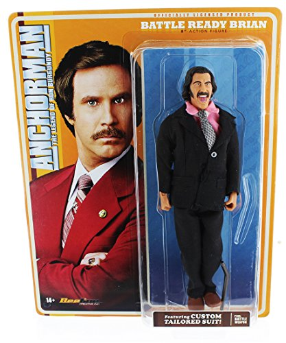 Anchorman Battle Ready Brian Fantana 8-Inch Action Figure