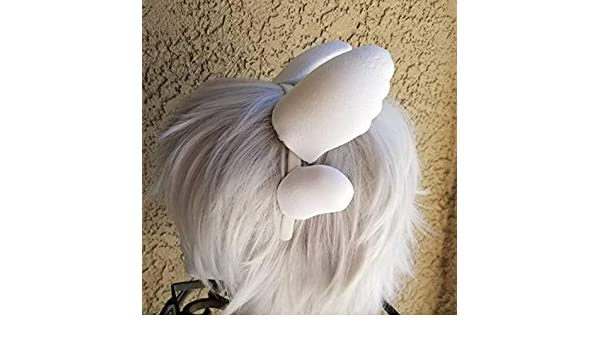 Professional cosplay Light Furry style dragon horns