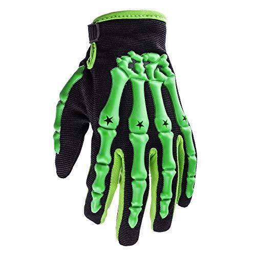 Youth Gloves Dirtpaw (Typhoon Youth Kids Motocross Motorcycle Offroad MX ATV Dirt Bike Gloves - Green - Medium)