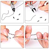 PP OPOUNT 48 Feet Stainless Steel Ball Bead Chain