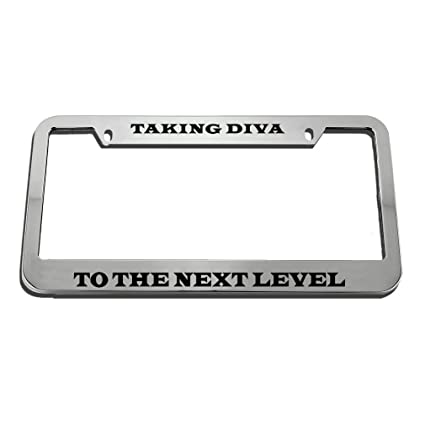 Amazon.com: Speedy Pros Taking Diva To The Next Level License Plate ...