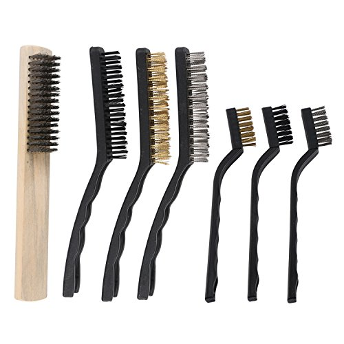 Check expert advices for wire brush set?