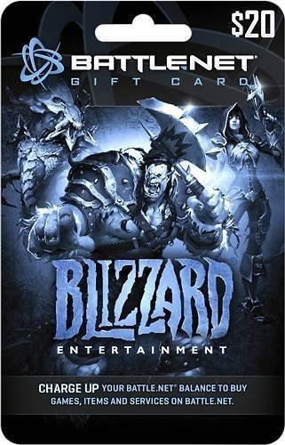BattleNet Pre-Paid Game Card $20