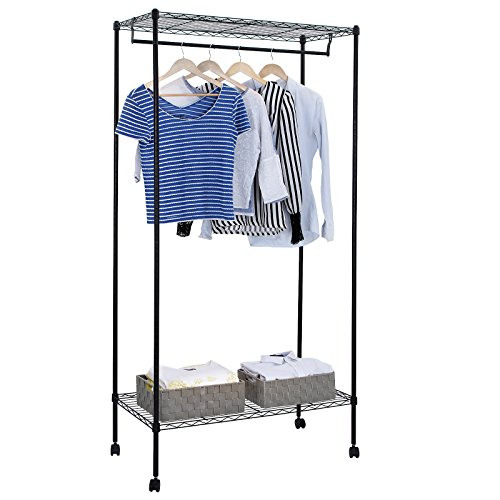 garment rack with shelf - 9