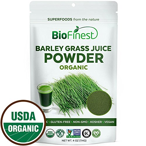 Biofinest-Barley-Grass-Juice-Powder-100-Pure-Freeze-Dried-Antioxidant-Superfood-USDA-Certified-Organic-Kosher-Vegan-Raw-Non-GMO-Boost-Energy-Immunity-For-Smoothie-Beverage-Blend-4-oz