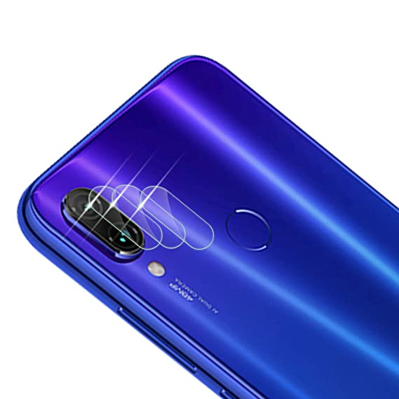 Qoosea Compatible With Xiaomi Redmi Note 7 Pro Camera Lens Protector Xiaomi Redmi Note 7 Pro Case Friendly 3 Pack Clear Glass Protector Ultra Thin