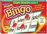 Sight Words Bingo - Language Building Skill Game for Home or Classroom (T6064), Build Vocabulary with 46 Most-