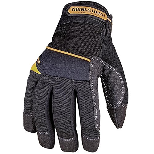 - Youngstown Glove 03-3060-80-M General Utility Plus Performance Glove Medium, Black