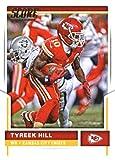 2017 Score #252 Tyreek Hill NM-MT Chiefs