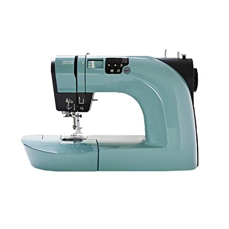 Toyota Oekaki Sewing Machine 40 Stitches Green Teal Amazoncouk Delectable Oekaki Sewing Machine Reviews