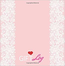 gift log present receipt log gift log book wedding wedding
