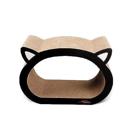 Pet Elf Tabla de rascar de Papel Corrugado para Gatos, Gatos, rascadores de Gato, ...
