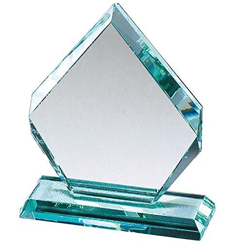 カスタマイズ可能な8 – 1 / 2インチ矢印形状JadeガラスAward , Includes Personalization B071WXKRYR