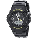 G-Shock G100-9CM Men's Black Resin Sport Watch
