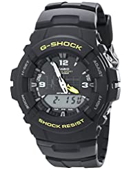Casio Unisex G-100-9CMCR G-Shock Black Watch