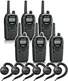 6 Kenwood TK-3230 Radios with 6 KHS-31 Headsets.