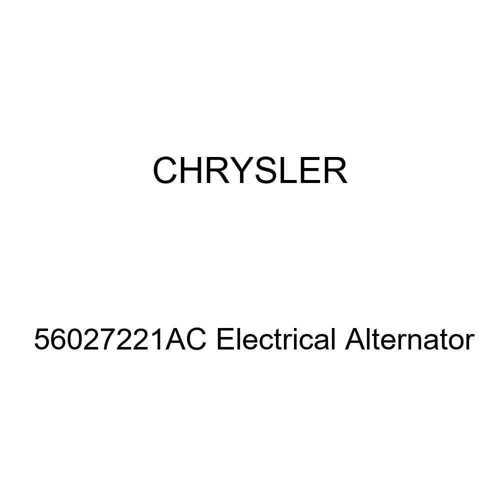 Genuine Chrysler 56027221AC Electrical Alternator