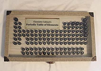Amazon Com Periodic Table Of Elements Element Collection Pack