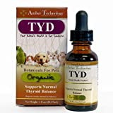 Amber Technology TYD Thyroid Support for Pets, 1 oz.