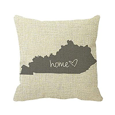 Starings Sofa Pillow Covers Home ≪3 Kentucky Print Cushion Covers 18in
