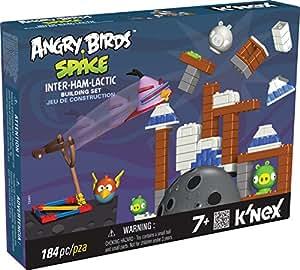 K'NEX Angry Birds - Space Inter-Ham-Lactic, set de construcción, 184 piezas (Fábrica de Juguetes 41006)