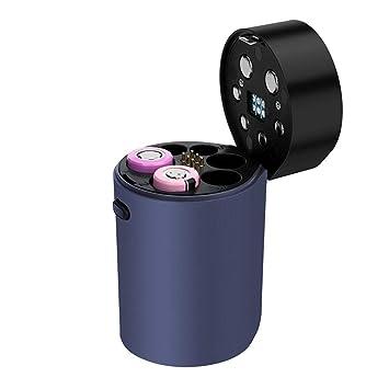 Cargador de batería 18650,Smart 6 Ranuras Pantalla LCD Carga ...