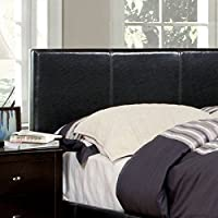 247SHOPATHOME Idf-7008HB-FQ Headboards, Queen, Espresso