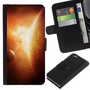 UNIQCASE - Apple Iphone 6 4.7 - Planets In Space - Cuero PU Delgado caso cubierta Shell Armor Funda Case Cover