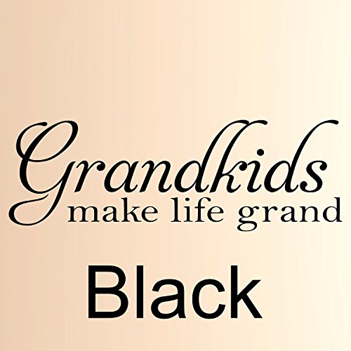 Grandkids Make life grand #4 Vinyl Wall Decal, Family wall Quote, custom wall quote, Removable wall Decal, Home Wall Decor,Vinyl Wall Decor