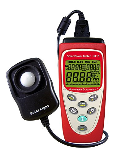 Anaheim Scientific H115 Solar Power Meter by Anaheim Scientific