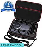 Upgraded DJI Mavic pro Case - waterproof | Durable | Compact | Portable Travel Hardshell Shoulder Bag Backpack Hardshell Suitcase by Oukey (Shoulder Case for Mavic)