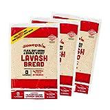 Joseph's Lavash Bread Value 3-Pack, Flax Oat Bran