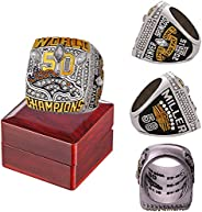 2015 'Broncos Championship Ring Official Version Replica with Wooden Box Super 'Bowl Alloy Champions R