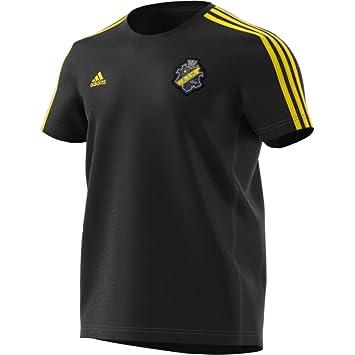 adidas AIK Stockholm - Camiseta de Fan Camiseta, Hombre, Fantrikot AIK Stockholm T-Shirt, Schwarz/Yellow, 3XL: Amazon.es: Deportes y aire libre