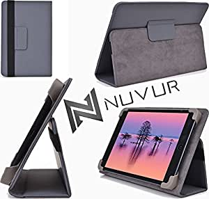 Grey/Adjustable Stand Cover Case Acer Iconia B1-720-L864 NuVur &153;