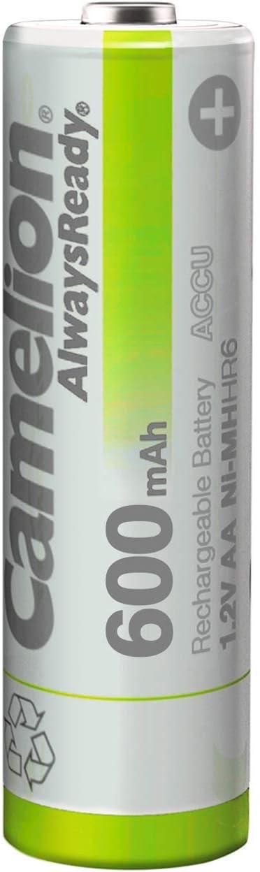 Camelion Nh-aa600ar-bp4 Batería Recargable Níquel-Metal hidruro ...