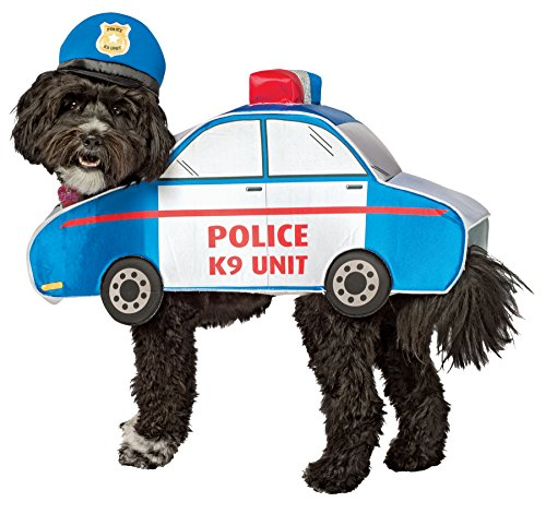 UHC Police Outfit Funny Theme Fancy Dress Puppy Halloween Pet Dog Costume, XS (Funny Dog Outfits)